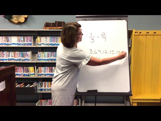 Seventh Grade- Math: Adding and Subtracting Fractions with unlike denominators