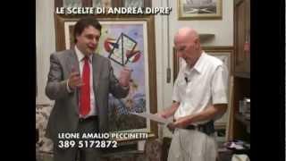 Il critico d'arte prof. Andrea Diprè presenta l'artista Amalio Peccinetti Capraro (highlights)