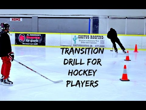 3 CONE TRANSITION DRILL FOR HOCKEY PLAYERS