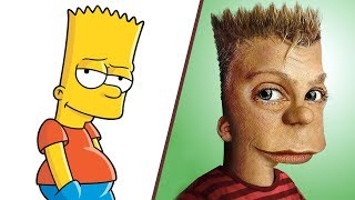 30 scary cartoon characters in real life!