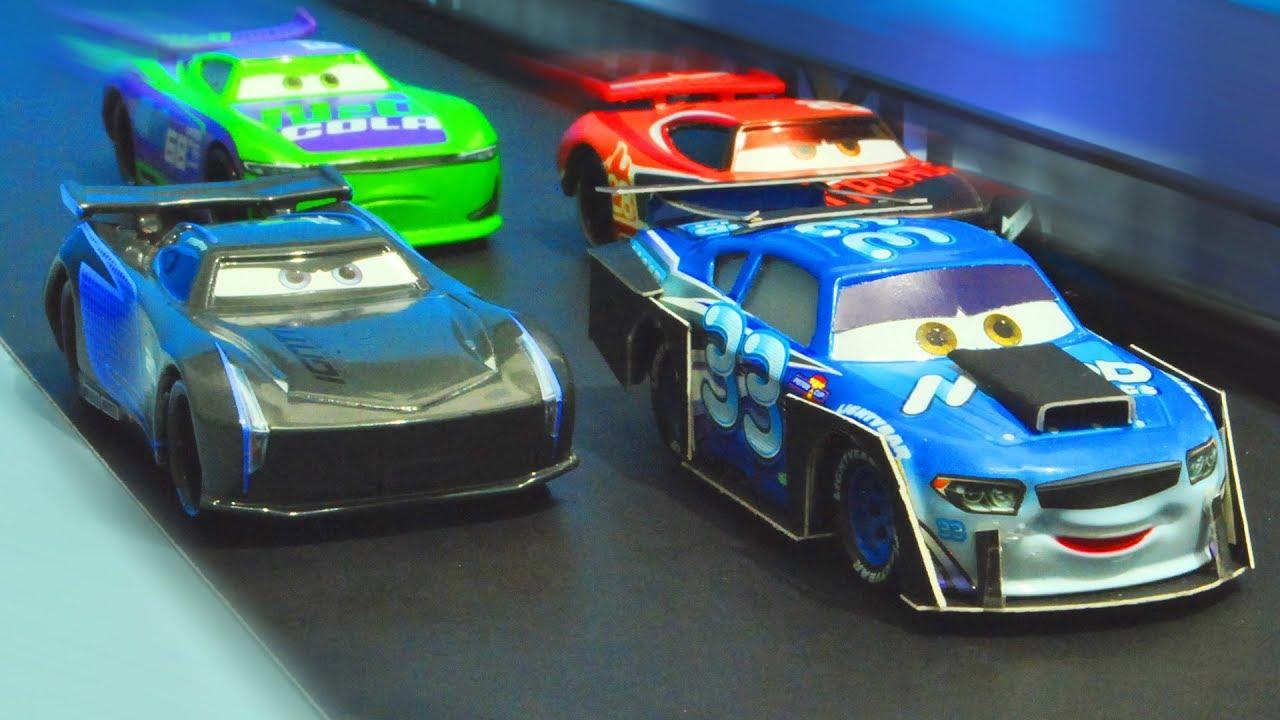 Disney Cars 3 Highspeed Racing Battle Stopmotion