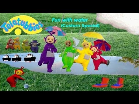 Teletubbies Fun With Water Youtube