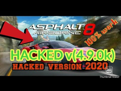 How To Hack Asphalt8 Airbone V4.9.0k| |2020 Updated Version New