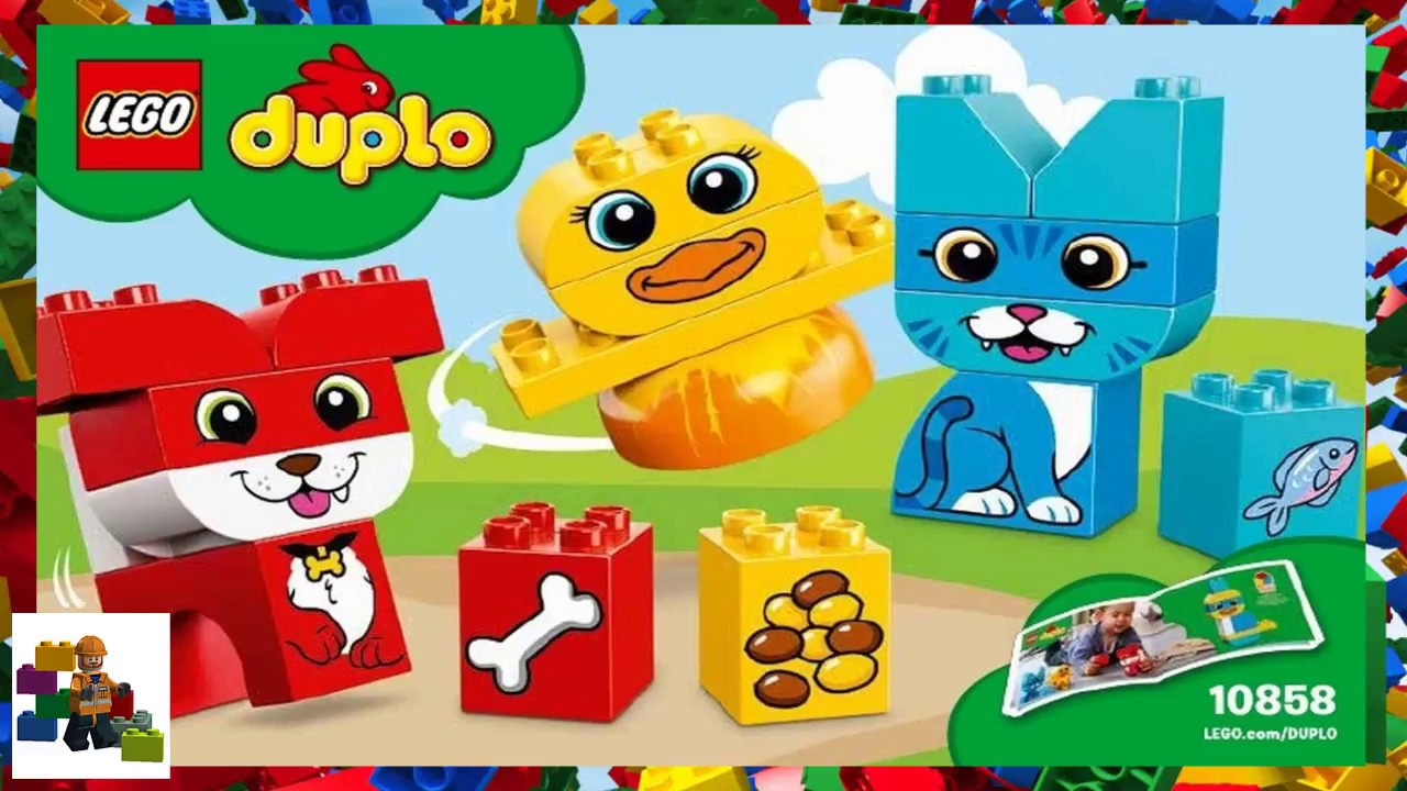 LEGO instructions - DUPLO - 10858 - My First Puzzle Pets