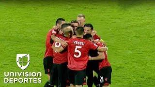 Albania inició con pie derecho la Nations League tras su victoria 1-0 sobre Israel