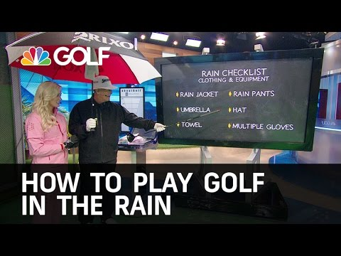 Tips for Playing Golf in The Rain | Golf Channel