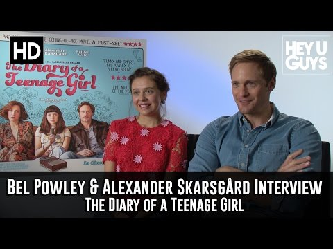 Bel Powley & Alexander Skarsgard  The Diary of a Teenage Girl Exclusive