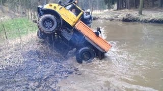Mercedes Unimog extreme off road compilation