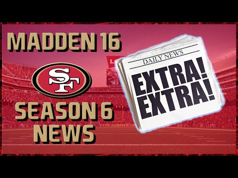 madden-16-franchise:-san-francisco-49ers-|-y6,-mid-season-news-|-1080p60fps