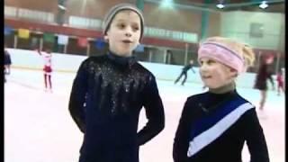 Как научиться кататься на коньках...!