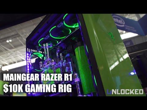PAX East 2017: MAINGEAR R1 Razer Custom Liquid Cooled Gaming Rig