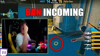 S1MPLE WILL BE BANNED ON TWITCH? | BOMB STUCK | KENNYS WITH CHEATS??? (CSGO TWITCH MOMENTS)