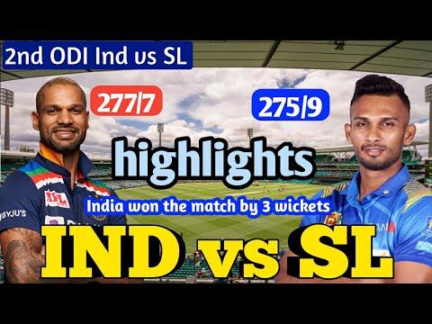 India vs Sri Lanka 2nd ODI Live Cricket Score: Deepak Chahar's ...