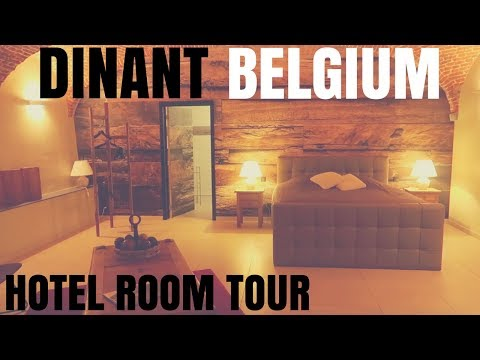 HOTEL ROOM TOUR | DINANT, BELGIUM TRAVEL VIDEO | VEDA DAY 11