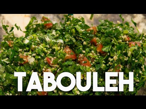 TABOULEH Parsley & Mint Salad - Quick, Easy & Healthy