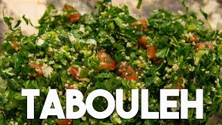 Tabouleh - Parsley & Mint Salad - Easy To Prepare.