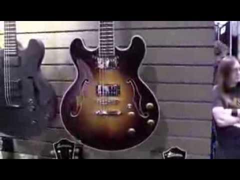 EASTMAN GUITARS - NAMM 2014 - TMNtv Booth Tour