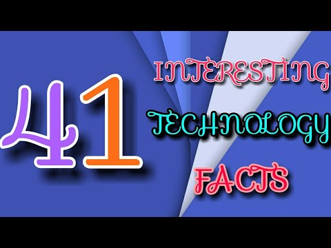 41 interesting facts about technology that will blow your mind