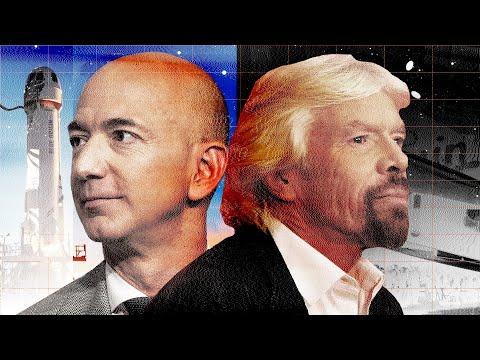 Bezos, Branson, and the Billionaire-Funded Race To Make Space a Bargain