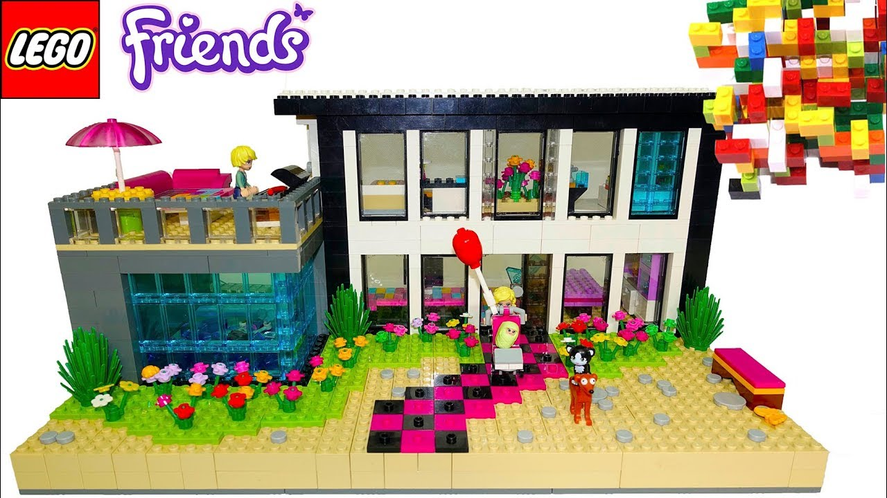 Lego Friends House With Real Water Swimming Pool 23 By