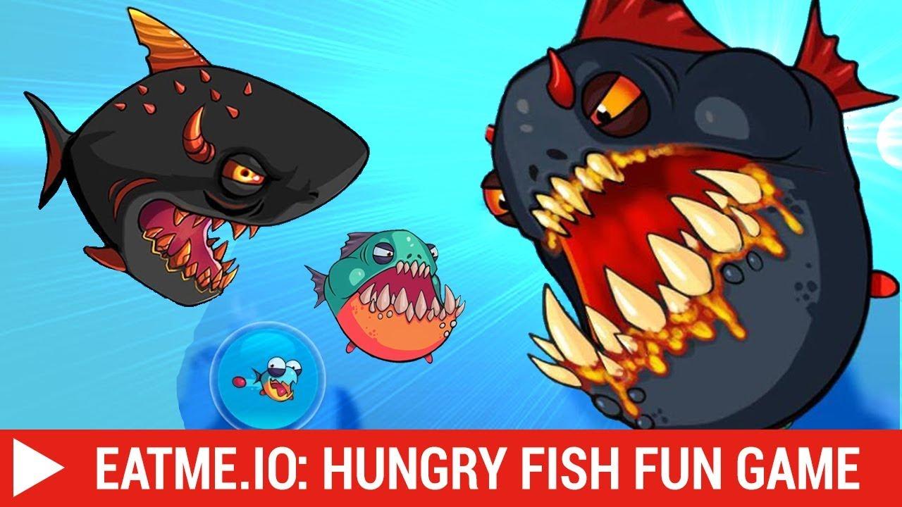 [TUTI] Eatme.io: Hungry fish fun game – Cá lớn nuốt cá bé trò chơi vui nhộn