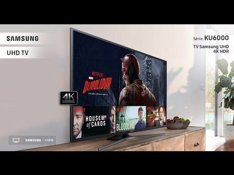 "Review / Unboxing Smart Tv 55"" Ultra HD 4K Samsung 55KU6000"