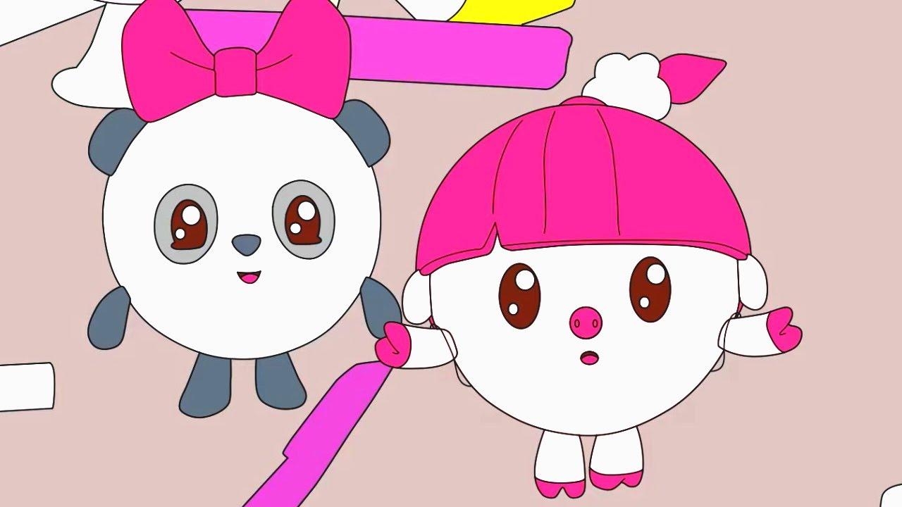 Малышарики - Бабочки 🦋 | Раскраска для девочек и мальчиков