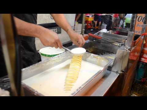 Food in Connaught: Tornado Potato