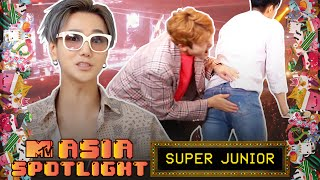Download lagu YESUNG Almost Gets Hit Trying To Propose To ELFs | SUPER JUNIOR Plays Jenga | Asia Spotlight