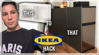 IKEA HACK BESTÅ / Mein neuer Schneideraum DIY DO IT YOURSELF VLOG mit Jerome Kutscher