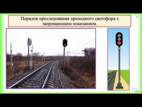 Организация движения поездов при автоблокировке для локомотивных бригад. Часть №1.