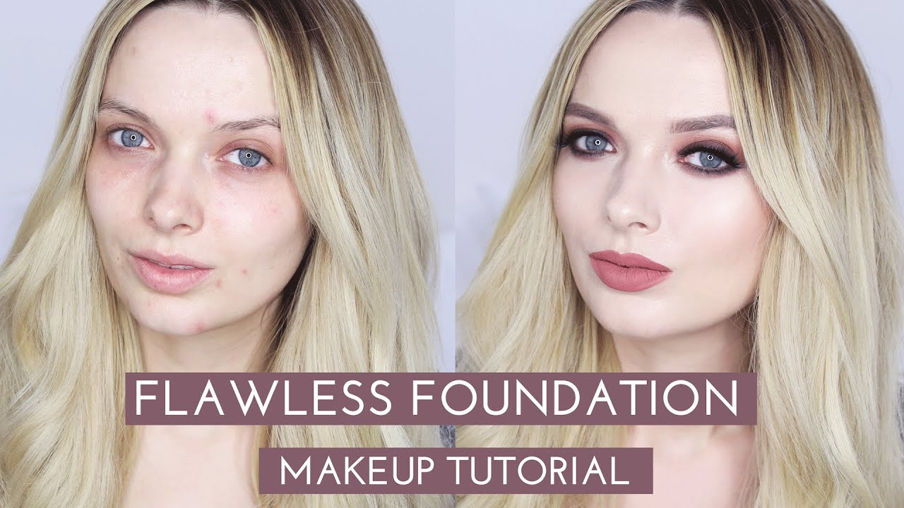 Flawless Foundation Without Concealer Makeup Tutorial