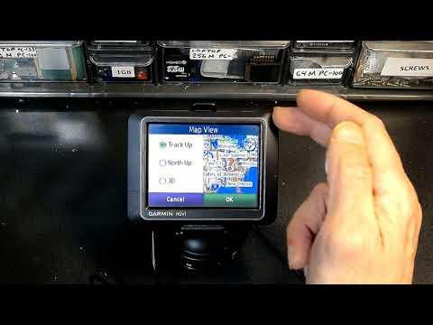 Tutorial On How To Use A Garmin Nuvi 200 205 255 265 270 GPS Navigation
