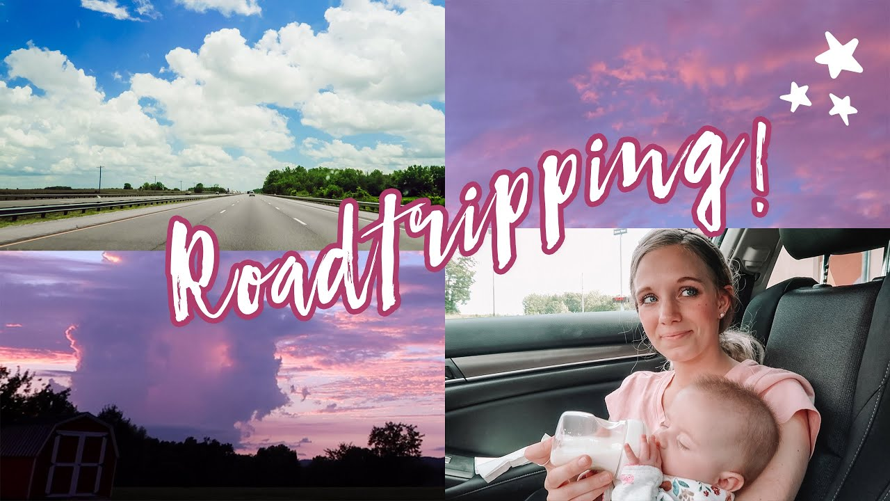 ROADTRIPPING TO TENNESSEE WITH A BABY!! Packing, shoutouts & youtubers to watch!! :)