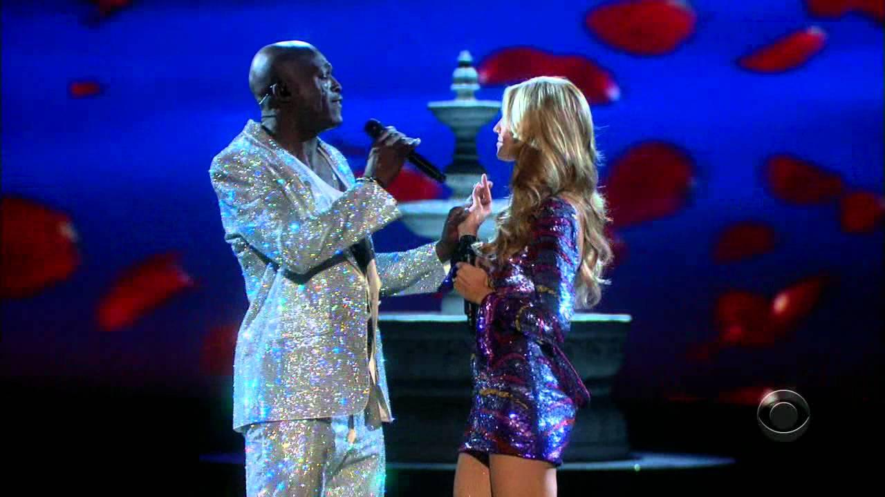 Hd 720p Seal Wedding Day Duet With Heidi Klum Live The Victoria S Secret Fashion Show 2008 Hdfan You
