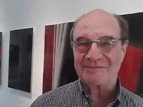 Digital Artist Wally Gilbert in Santa Monica, CA at Schomberg Gallery at Bergamot Station