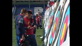 Российские стрелки из лука готовятся к Олимпиаде.avi