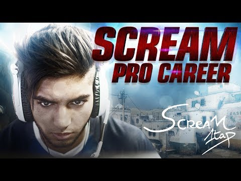 PRO CAREER OF SCREAM (CS:GO)