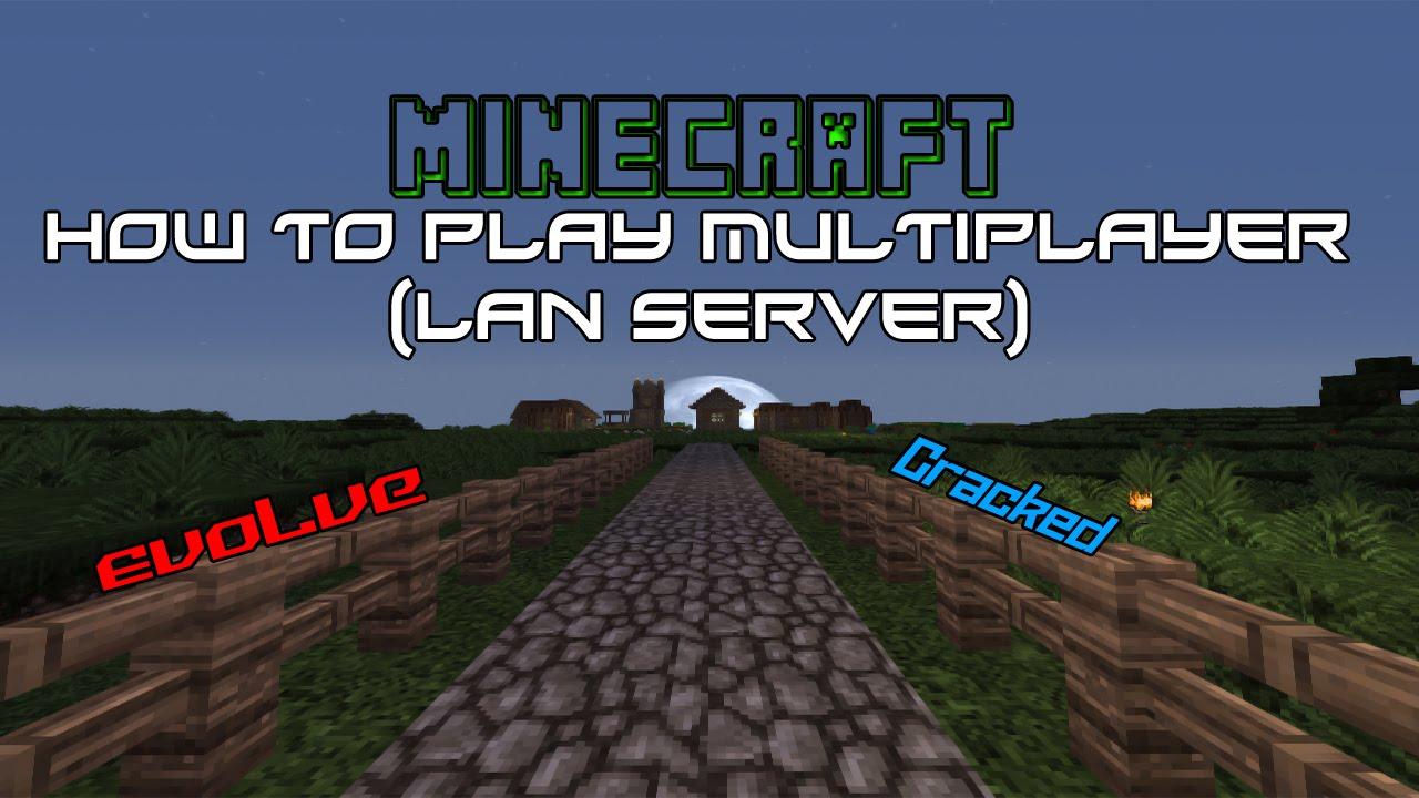 MinecraftHow To Play MultiplayerLAN YouTube - Minecraft zusammen spielen lan