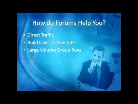 Forum Link Building Tutorial
