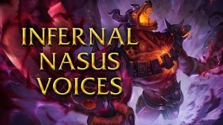 LoL Voices - Infernal Nasus - All 16 languages