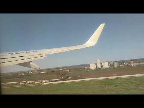 Вылет на Boeing 737-800 из аэропорта Минеральные Воды.