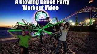 GLOW - Free Personal Training Fitness Video by Dustin Conrad BandsAndBody.com