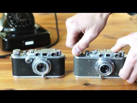 Leica IIIa vs Zorki 1 Shutter sounds