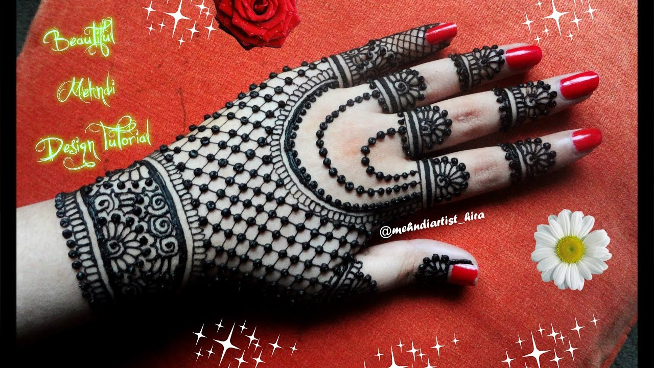 Beautiful Henna Mehndi Jewellery : Easy to make mehndi designs today we will see some of the