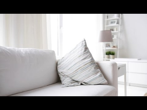 Modern Living Room Interior With White Furniture | Stock Footage – Videohive