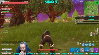 AmineX TV Fortnite Battle Pass Aufholjagd
