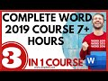 Complete word 2019 course: 7+ hours