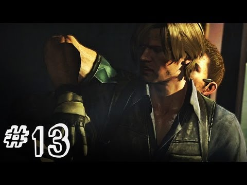 Resident Evil 6 Gameplay Walkthrough Part 13 Leon Kennedy Chris Piers Campaign Chapter 3 Re6 Youtube