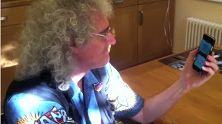 Brian May tests his own knowledge of Queen. He LITERALLY 'Plays The Game'!